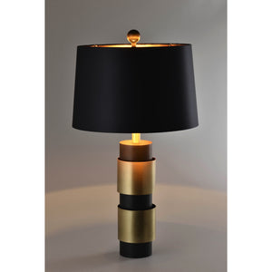 2 Bar Dark Metallic Coffee Lamp