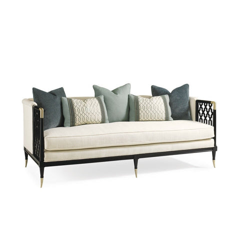 Image of Caracole® Lattice Entertain You Sofa - Taylor B. Fine Design Group - 1