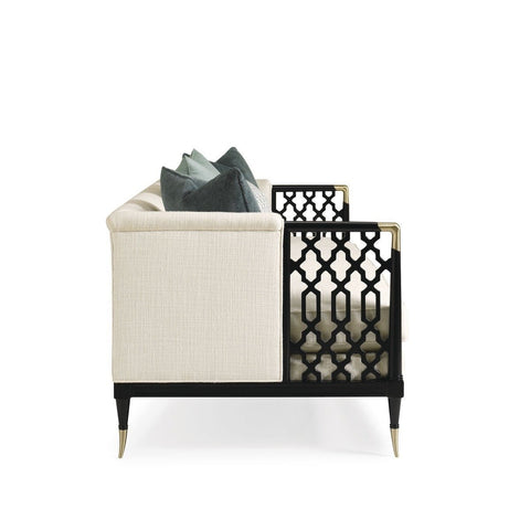 Image of Caracole® Lattice Entertain You Sofa - Taylor B. Fine Design Group - 2