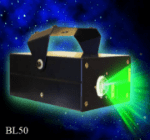 Bliss 15 and Bliss 50 Laser projectors create 3D Starry Night Sky