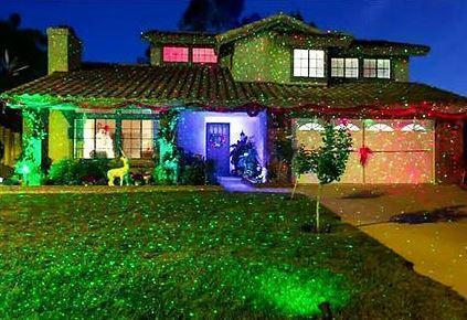 outdoor laser light projector photo gallery outdoor laser light projector photo gallery - Christmas Lights Projector On House
