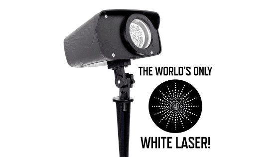 Introducing the World's Only White Laser Light Projector