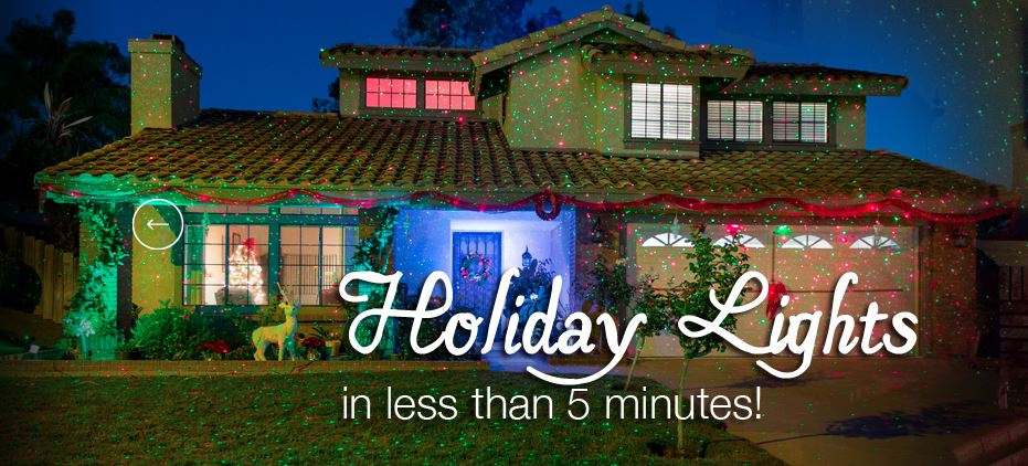 Holiday Lighting in minutes