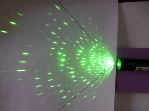 laser wand 160 degree spread