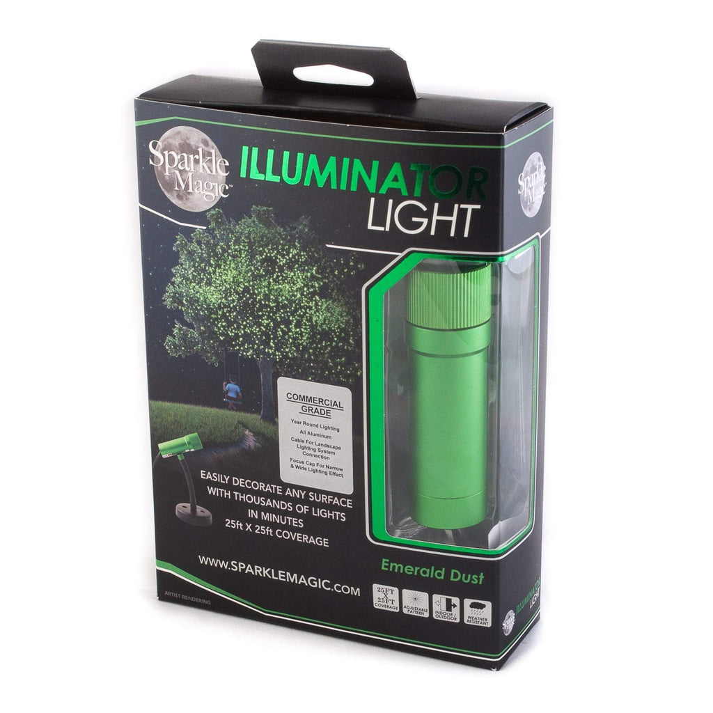 Commercial Grade Sparkle Magic Outdoor Green Laser Light