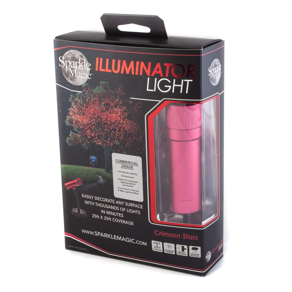 Commercial Grade Sparkle Magic Outdoor Red Laser Light