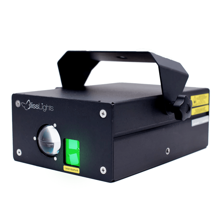 BL50 Bliss Lights Green Laser Light - Professional Wedding and Event Lighting