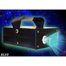 Blisslights Bliss50 BL-50 Blue laser projector with moving blue cloud light