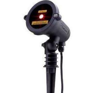BlissLights Spright Red laser light projector for outdoor landscape lighting