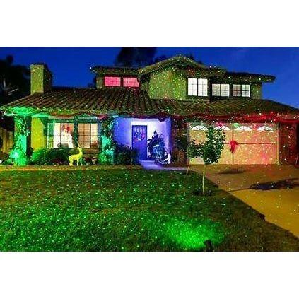 BlissLights Color Laser Projector outdoor Christmas lighting projector