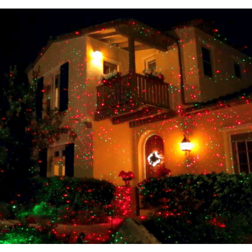 BlissLights MOTION Red Laser Projector Christmas Laser Light