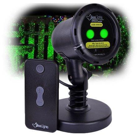BlissLights Motion Laser Light Projector for indoor and outdoor