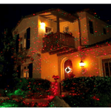 BlissLights Red Spright Laser Light decorating for Christmas