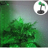 Green Compact Garden Laser Light
