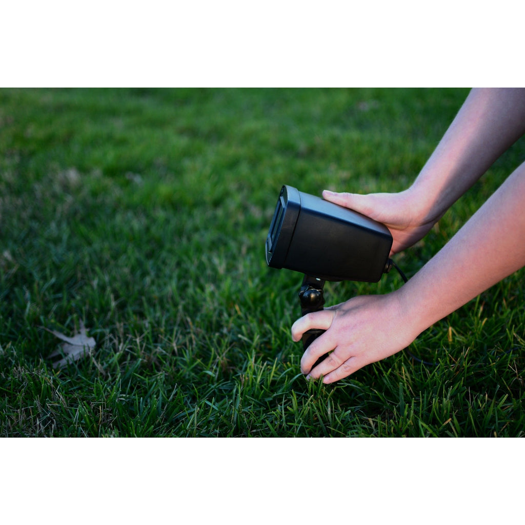 Outdoor Laser Light Projector Stake In Ground