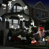 Outdoor Flying Bat Light Projector