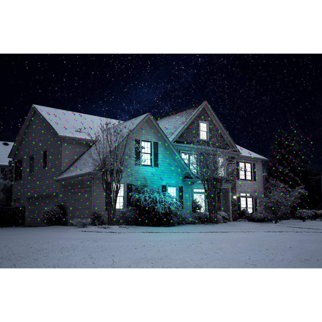 Outdoor Laser lights with blue LED spotlight