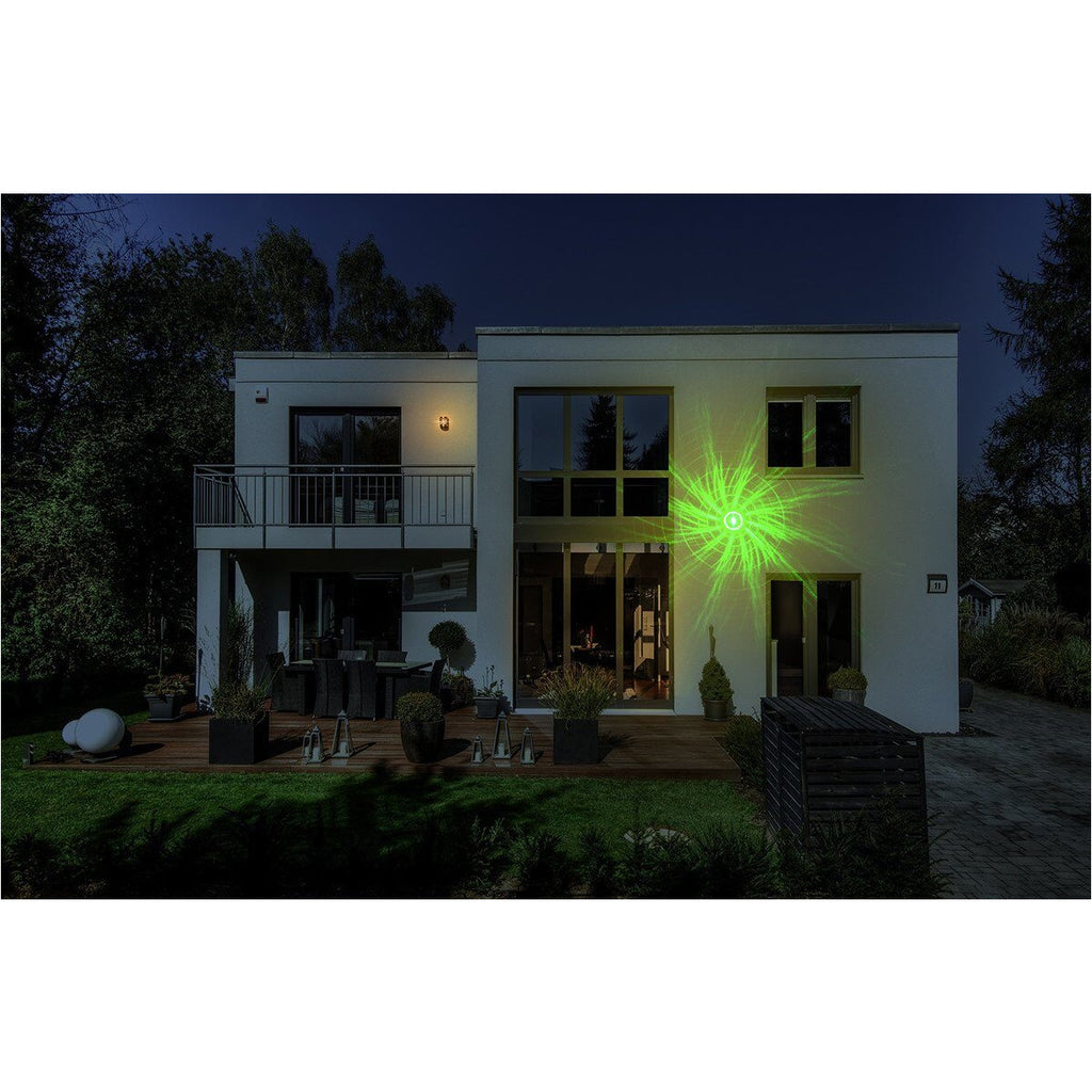 Night Stars Premium Red/Green Vortex Laser Light with 16-Color LED Spotlight