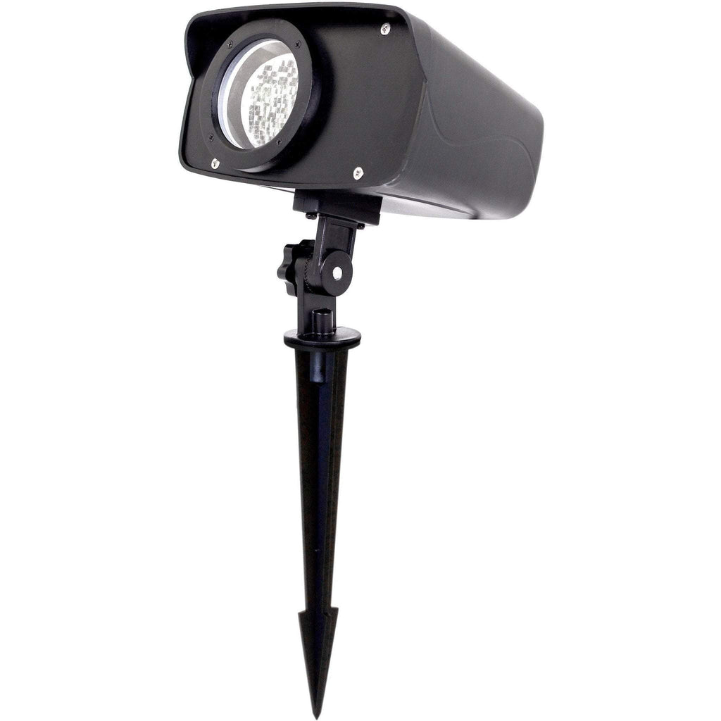 Outdoor White Laser Projector with Stake