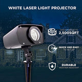 Night Stars White Laser Light Projector - Refurbished