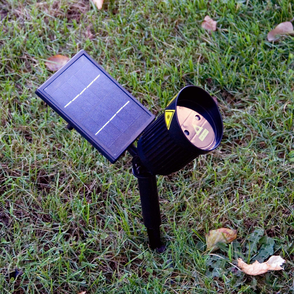 Outdoor Solar Laser Light Projector