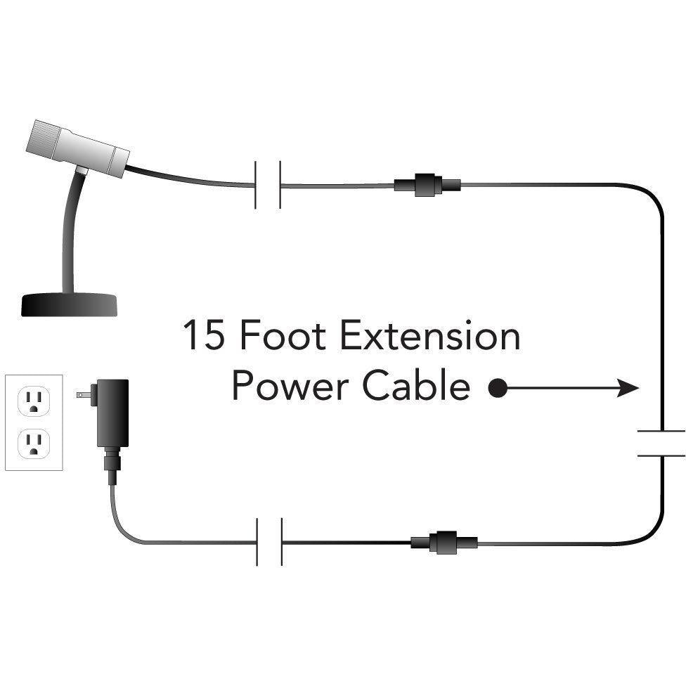 Sparkle Magic 15 Foot Extension Power Cable