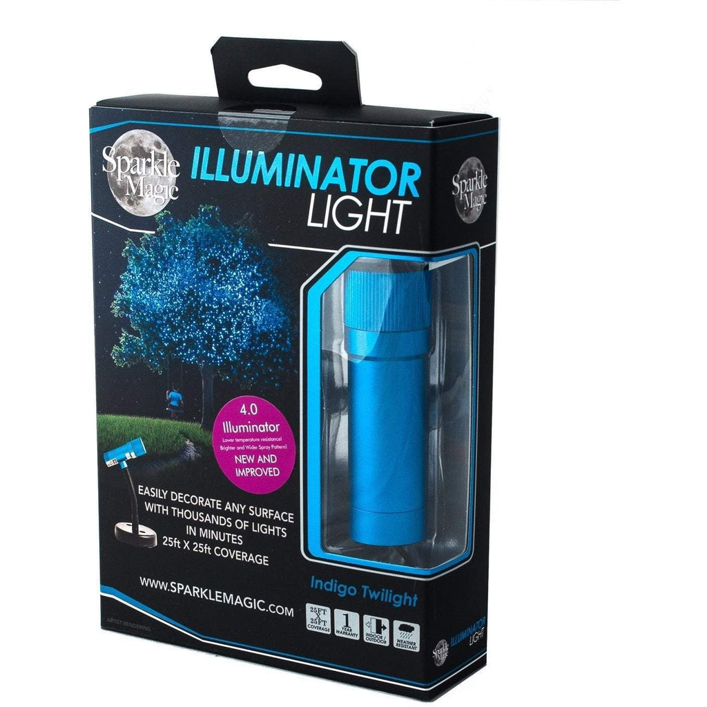 Sparkle Magic Blue Outdoor Laser light in Box