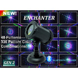 Spectrum Enchanter 48 Pattern 3D Laser Projector with Bluetooth Speaker (SL-41)