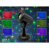Spectrum RGB Moving Firefly Laser Christmas Light Projector (SL-33)