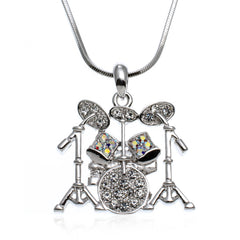 Musical Drums Necklace