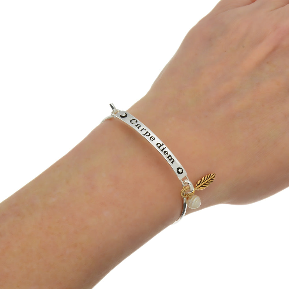 p inspirational hope faith cor silver message love view quick bracelet
