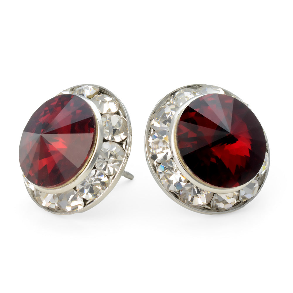 product earrings jivaana red danglers dangler women by jewels for buy stone stud zuaah at