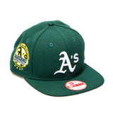 Oakland Athletics New Era Snapback Baseball Cap - Brunswick Green