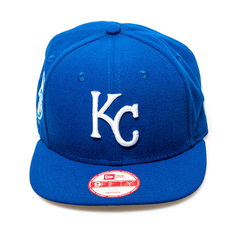 Kansas City Royals New Era Snapback Baseball Cap - Royal Blue
