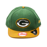 Green Bay Packers Official On-Field New Era Snapback Cap - Green/Yellow