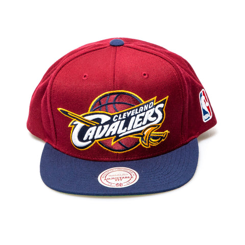 Cleveland Cavaliers Official NBA New Era Snapback Cap - Red/Navy