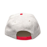 Chicago Bulls Official NBA New Era Snapback Cap - White/Red