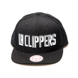 Los Angeles Clippers Official NBA New Era Snapback Cap - Black