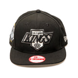 Los Angeles Kings Official NHL New Era Snapback Cap - Black