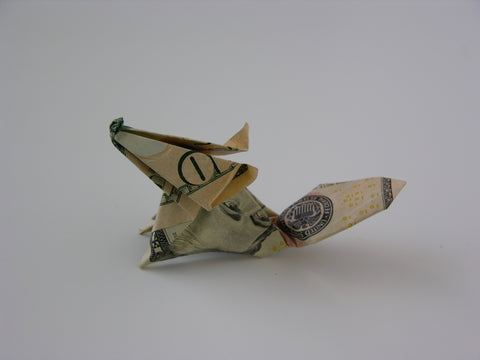 Money Fold Fox