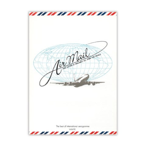 Air Mail White Lined Memo Pad