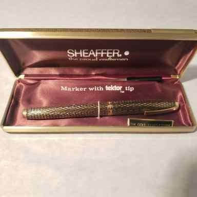 14k Sheaffer Imperial Sovereign w/ Tektor Tip Marker
