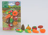 Vegetable Eraser Set