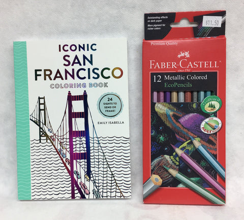San Francisco Coloring Book - Bundle