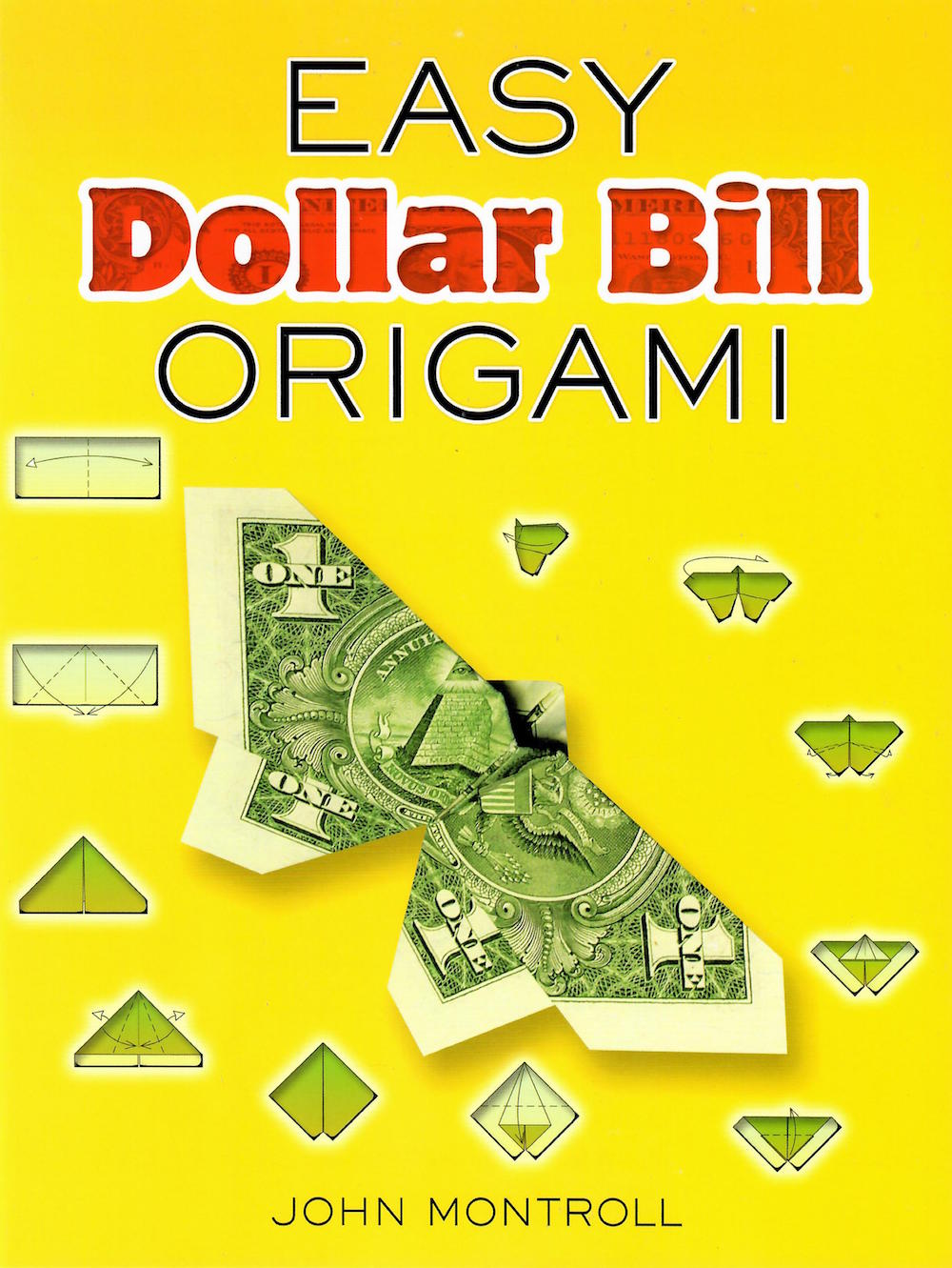 25 Money Origami Tutorials | 3D Dollar Bill Crafts | 1331x1000