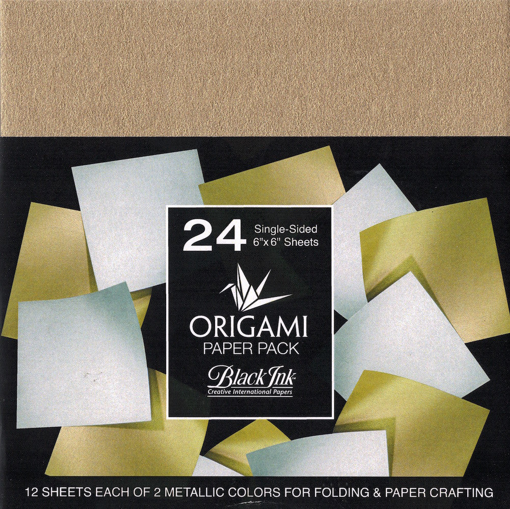 Graphic Products OP-300 Origami Paper Pack-Iridescent 40 Sheets