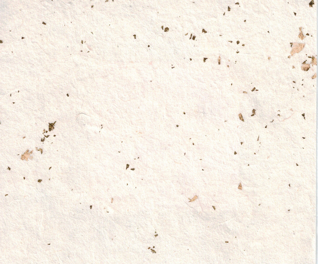 Handmade Paper - Gold Flakes