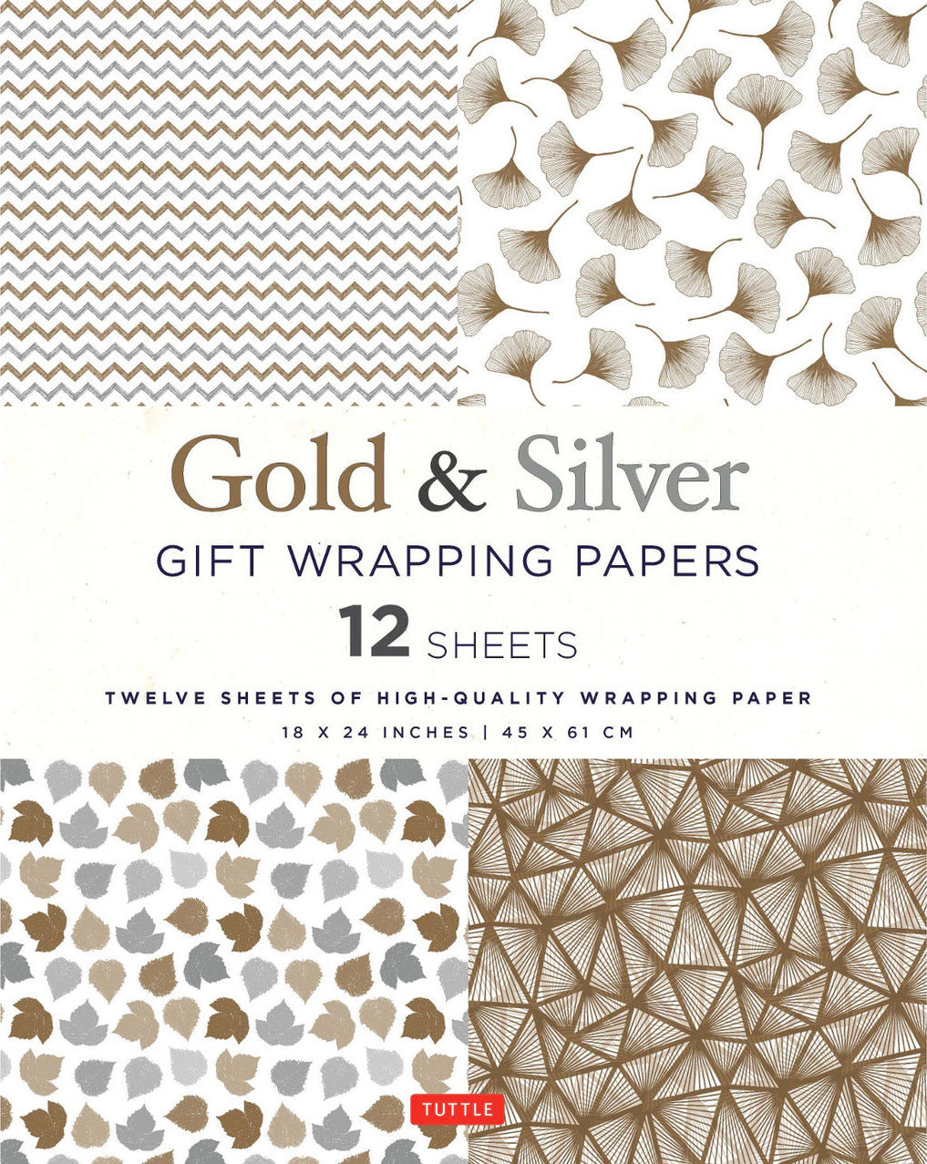Gold & Silver Gift Wrapping Paper