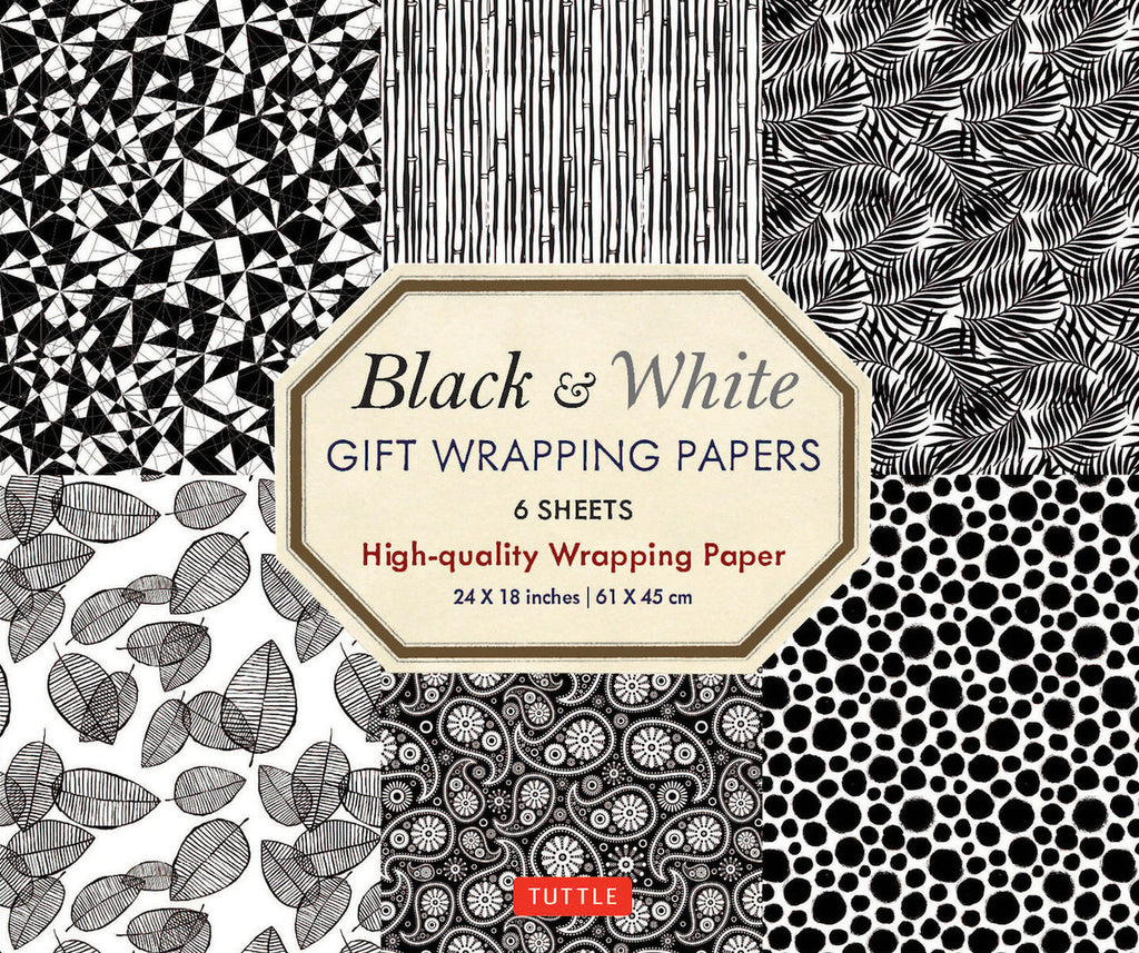 Black & White Gift Wrapping Paper