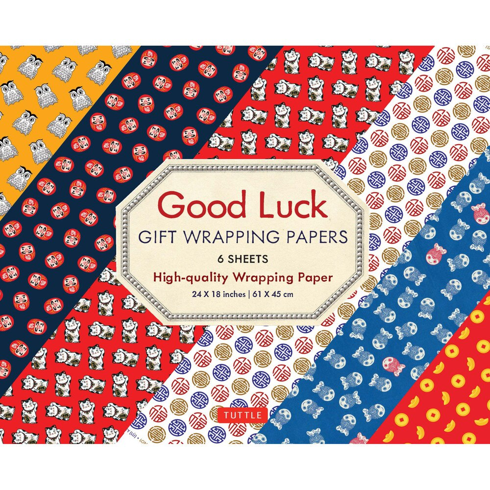 Good Luck Gift Wrapping Papers